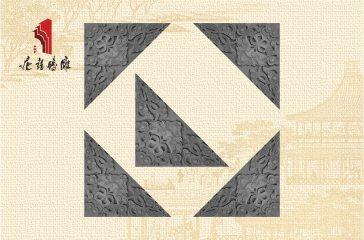 唐语砖雕新品 影壁照壁墙面角花配件 龙纹角花|TY-S243