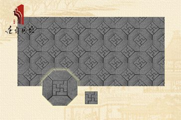 唐语砖雕 新品墙面室内外装修万字纹砖雕组合|TY-QD072