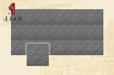 唐语砖雕 新品水波纹砖雕 墙面砖雕装修|TY-QD251